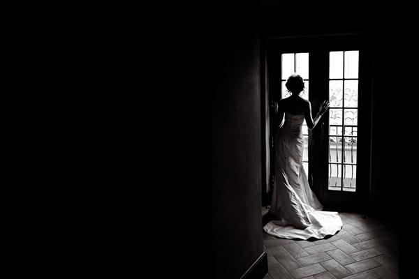 amazing silhouette wedding photo by Studio222 Photography