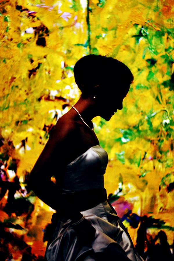 amazing silhouette wedding photo by John and Joseph Photography