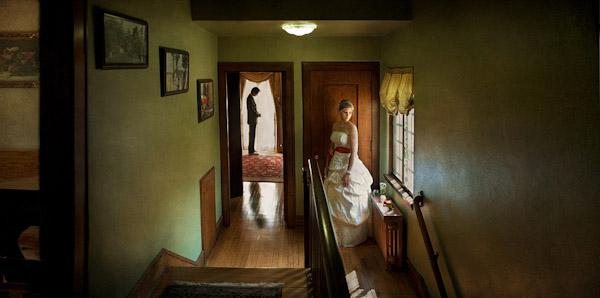 amazing silhouette wedding photo by Nakai Photography