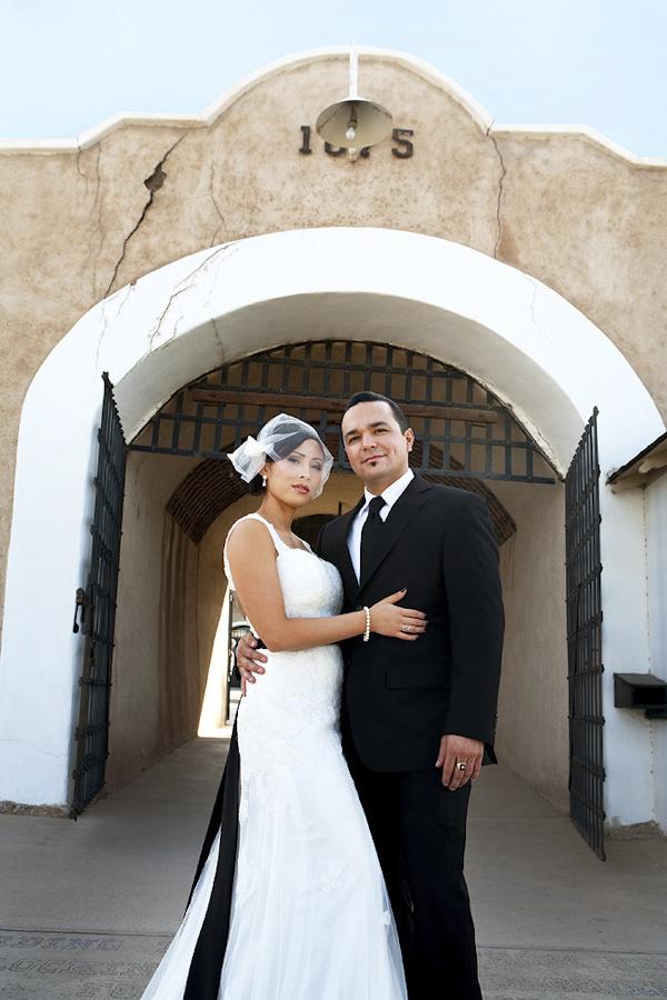 Kirby and jakes classic black and white wedding in yuma arizona elegant yuma arizona wedding black and white wedding colors photography by top junglespirit Gallery