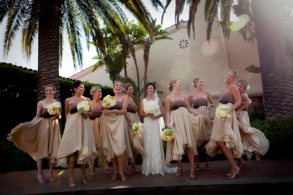 creative wedding photo with motion by Nicol Ragland Photography
