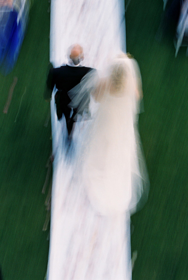 creative wedding photo with motion by Yvette Roman Photography