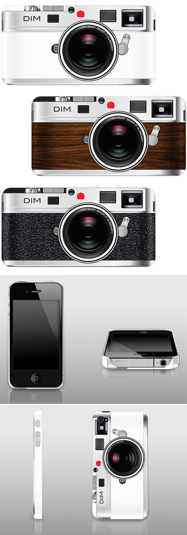 retro vintage camera iphone 4 cases from drop it MODERN