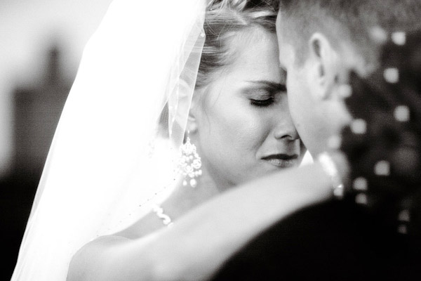 emotional bride and groom wedding photo by Kenny Kim Photography