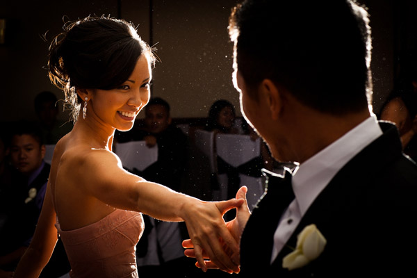 honorable mention best wedding reception photo of 2011 by Preston Utley
