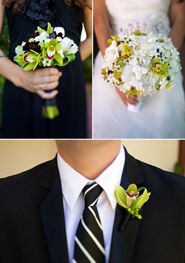 Romantic garden wedding at the Inn at Rancho Santa Fe, California, wedding photos by Anika London Photography