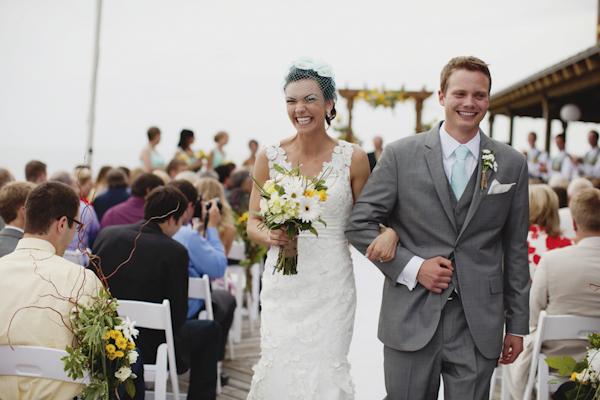 Lake Michigan wedding - top Michigan based wedding photographers Bryan and Mae