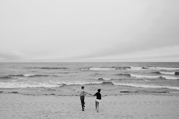 beach engagement photos in Saugatuck, Michigan from Bryan and Mae
