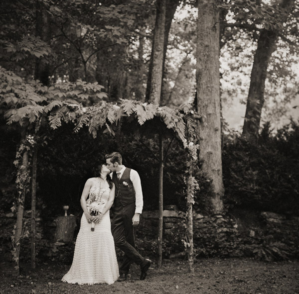 beautiful wedding photo by North Carolina wedding photographer Richard Israel