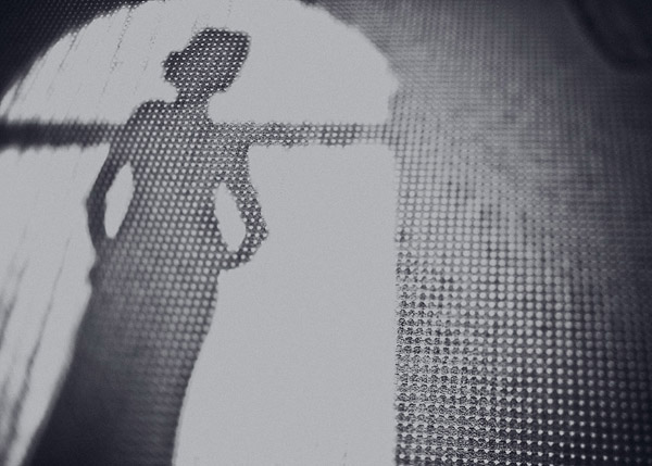 wedding silhouette photo by Jeff Newsom