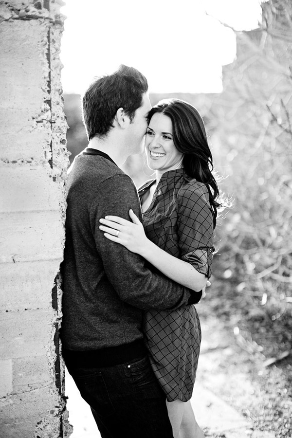 stylish engagement photo session by Meg Perotti