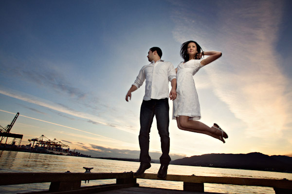 amazing wedding photo by top photographers Camille and Chadwick Bensler of Jonetsu Photography