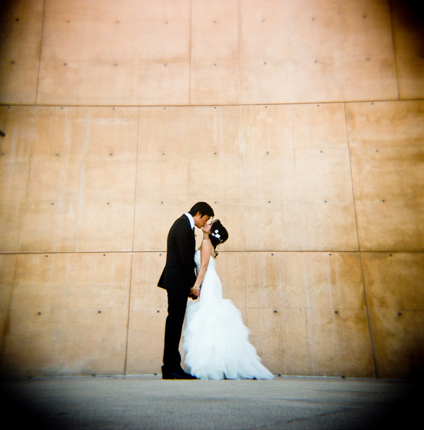 urban LA real wedding, photos by Twin Lens Images