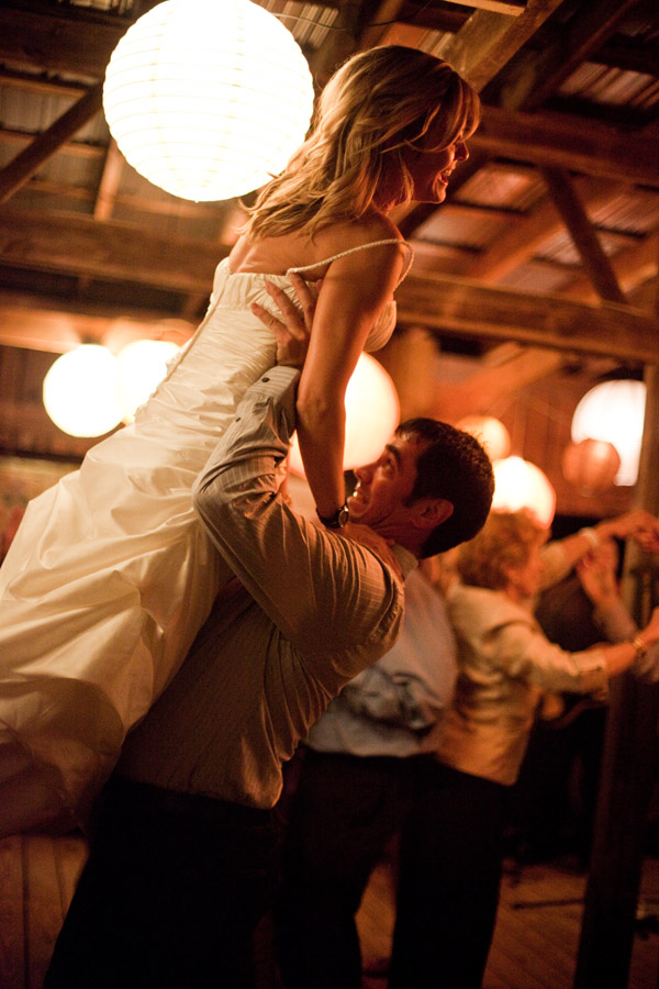 wedding reception dance photo by Jeremie Barlow