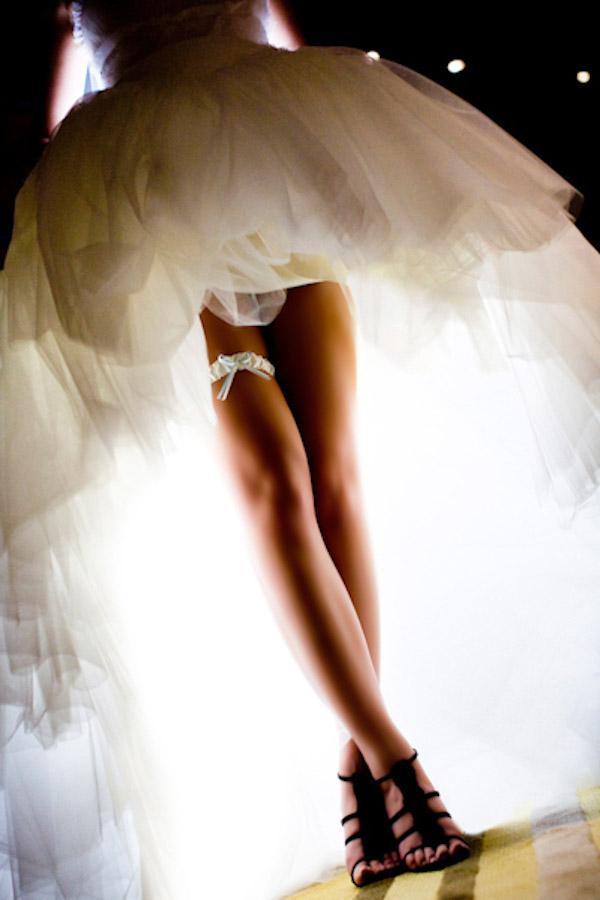 Как называется подвязка на ноге невесты
