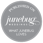 Published on junebugweddings