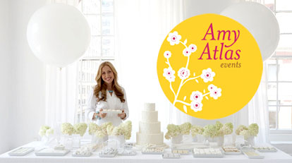 Wedding dessert tables and images by Amy Atlas Events
