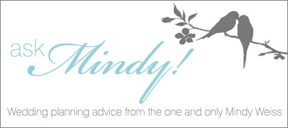 Wedding planning advice from Mindy Weiss and Junebug Weddings!