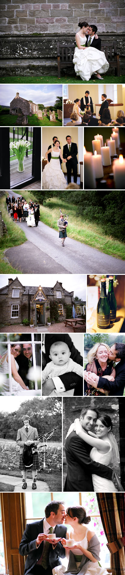 Images by Eric Rhodes, Scotland destination wedding