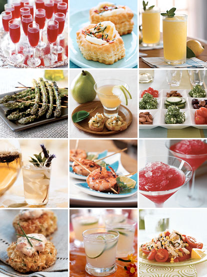 Recipes and Party Ideas for All Your Wedding Events from ...