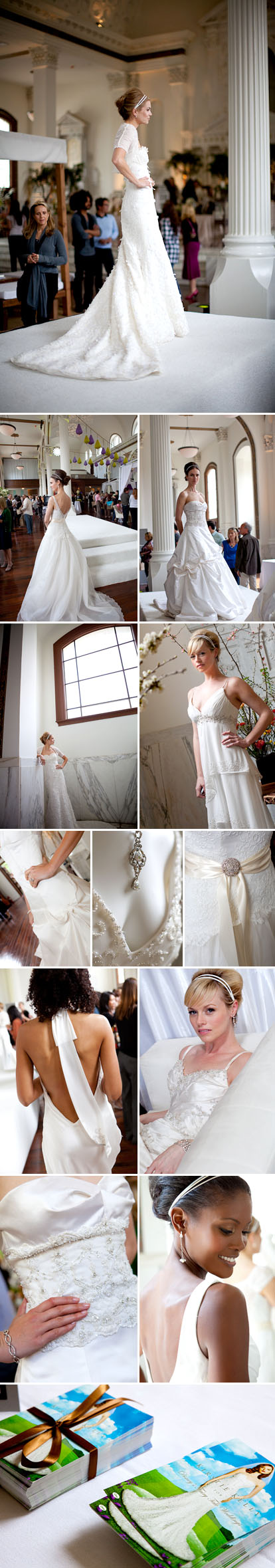 Kirstie Kelly Couture wedding fashion at A Soolip Wedding, images by Junebug Weddings