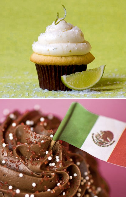Margarita and Mexican Hot Chocolate Cupcakes for Cinco de Mayo from Seattle's Trophy Cupcakes