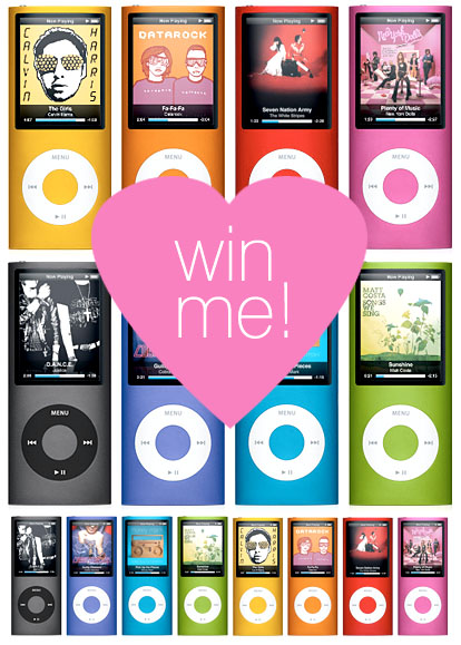 Win an iPod Nano from Junebug Weddings!