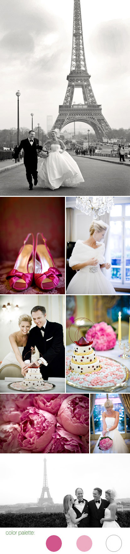 Paris, France real wedding, images by Amy and Stuart Photography