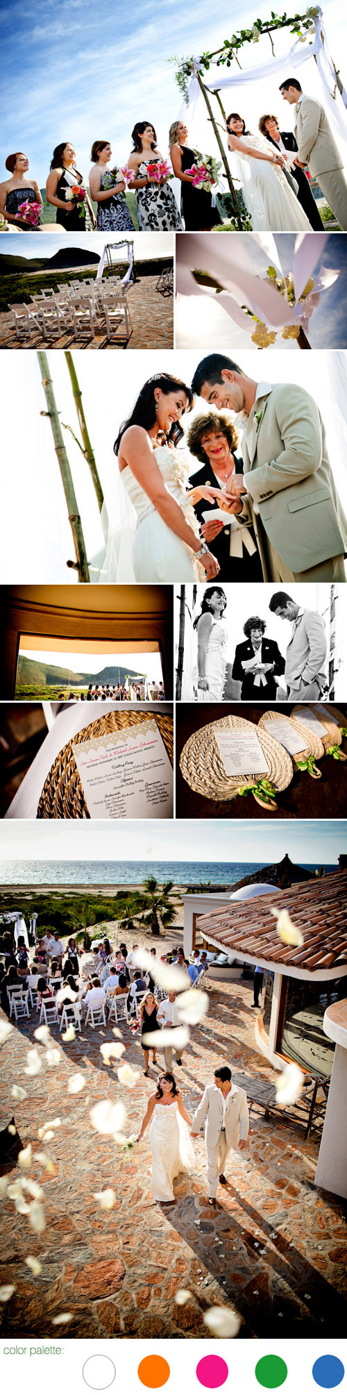destination beach real wedding image by ben chrisman photography