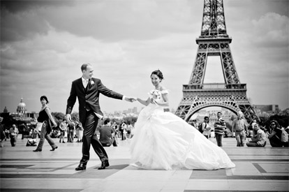 The best wedding photos of 2009, image by Ivan Franchet Wedding Art Photography