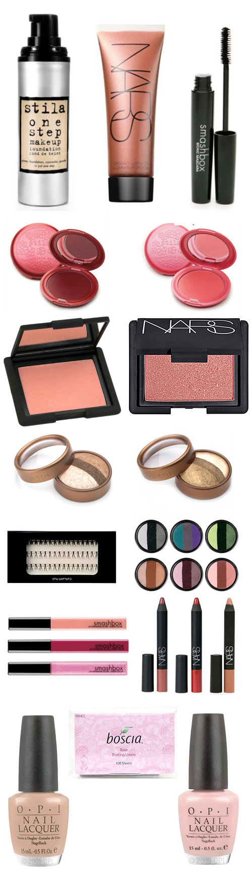 Wedding makeup products
