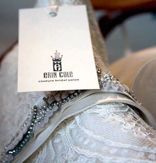 Erin Cole Couture sample sale and trunk shows