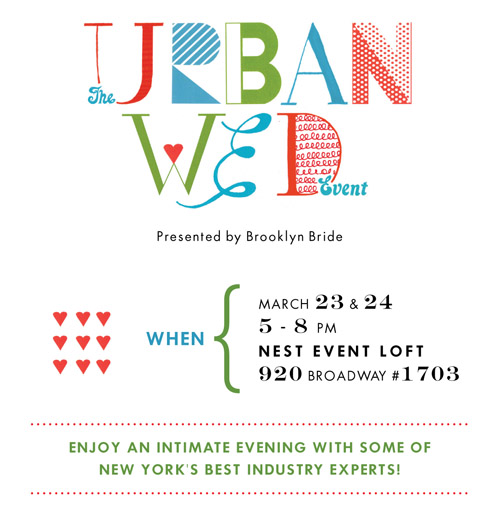 The Urban Wed Event, NYC