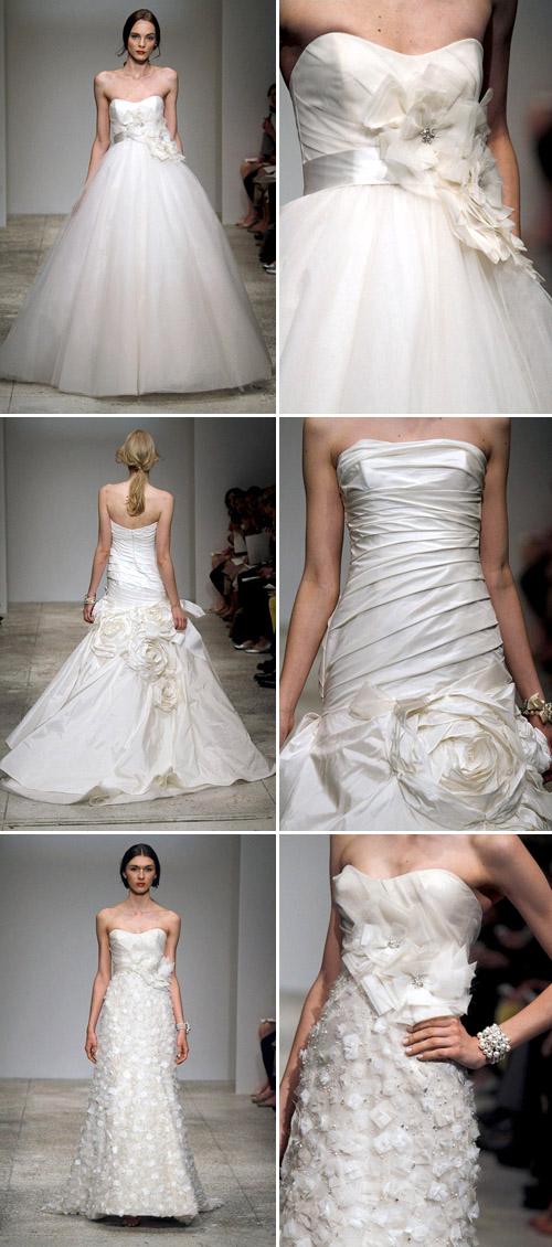 floral wedding dresses by amsale