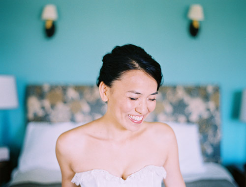 A beautiful bride getting ready for her wedding, image by Leo Patrone Photography