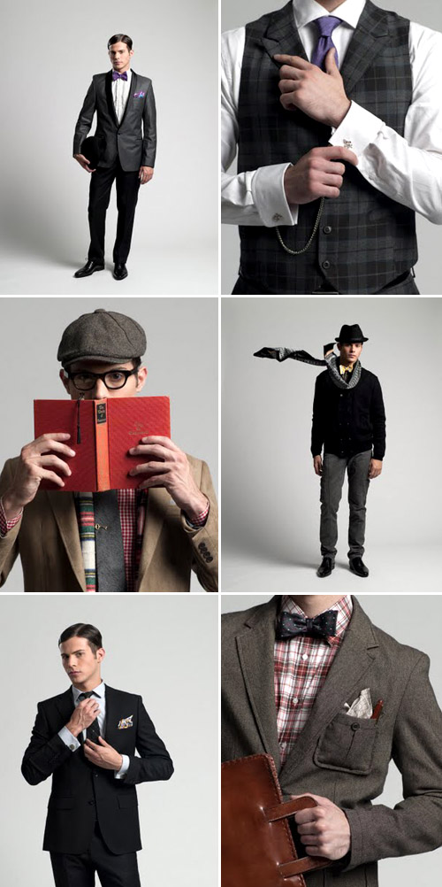 creative and stylish men's wedding fashion and accessories from Fine and Dandy Shop