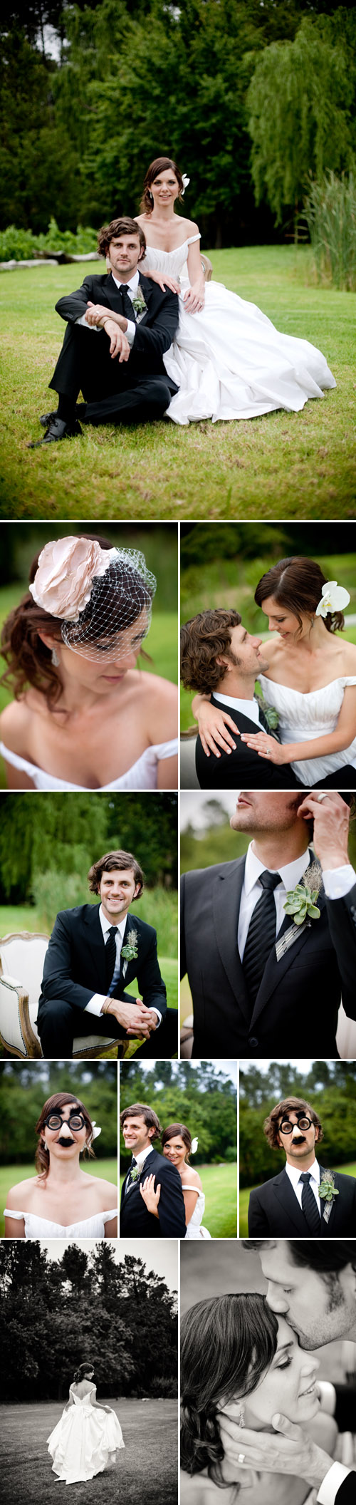 vintage style real wedding in south africa, romantic wedding couple portraits, images by Christine Meintjes