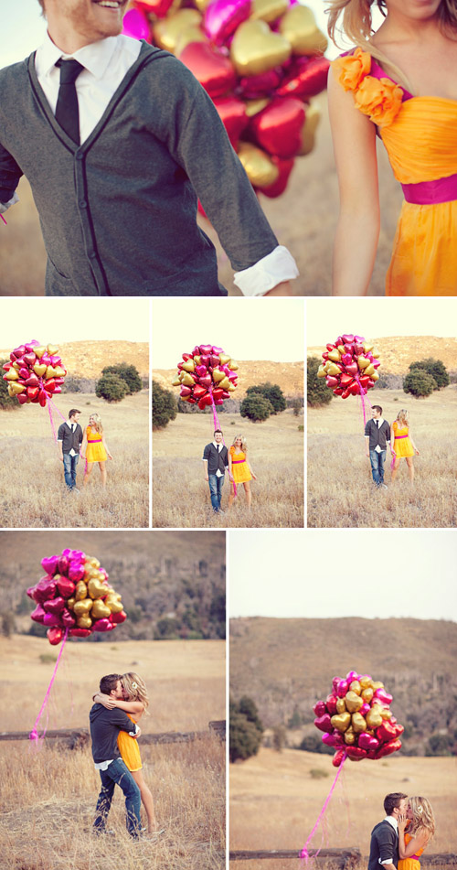 creative engagement photo shoot from Sarah Yates Photography