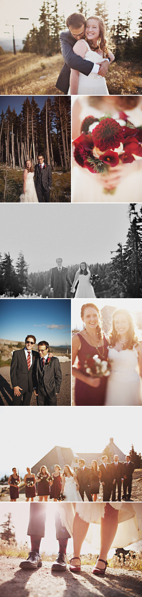 mt. hood, oregon real wedding, images by sean flanigan photography