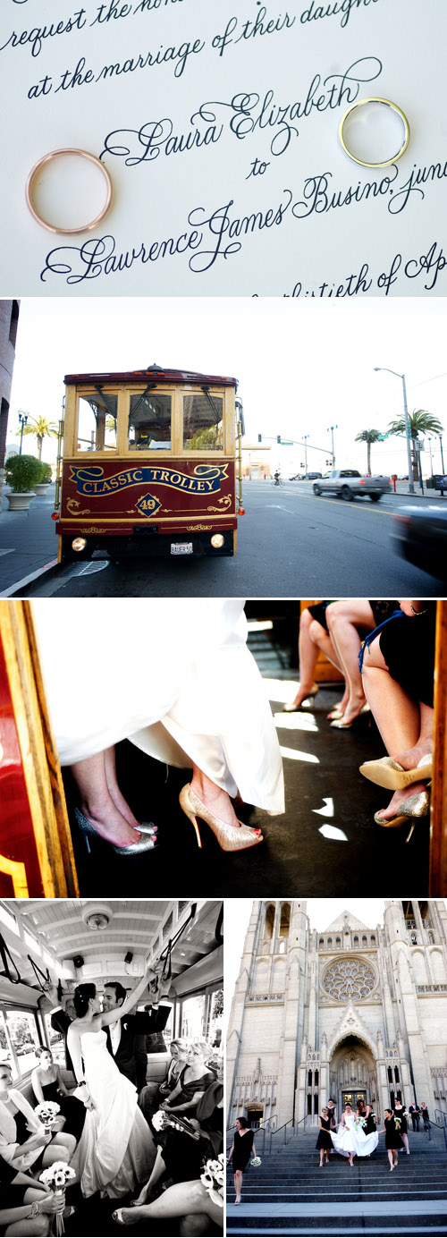 Classic Elegant Wedding at the San Francisco Ferry Buiding by Ashley Garmon Photographers