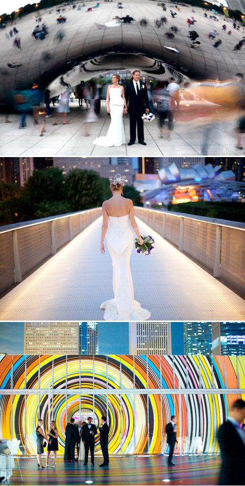 Modern Museum Wedding at the Art Institute of Chicago, Photo by Amanda Wilcher Photographers