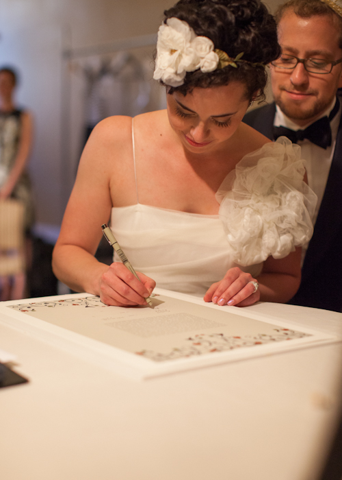 Boston Public Library Wedding, photos by Nathan Smith and Angi Welsch for Ira Lippke Studios | junebugweddings.com