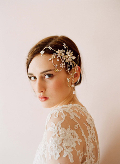 Bridal Hair Accessories From Twigs Honey