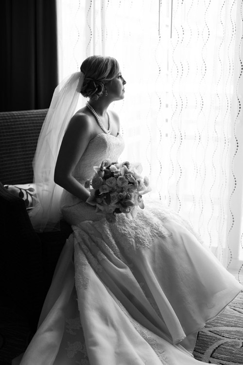 Romantic Bridal Portrait, photo by The Popes
