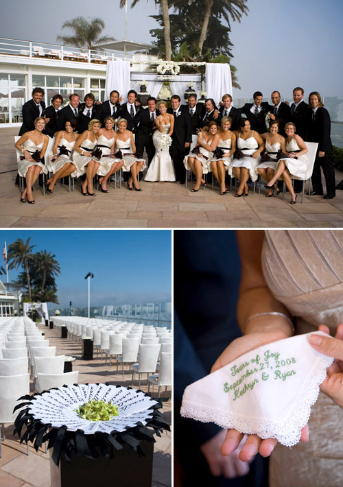 santa barbara california beach real wedding at the four seasons resort, images by robert evans studios inc.