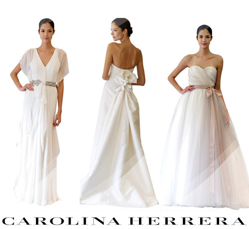 Carolina Herrera Fall 2012 Collection | Junebug Weddings