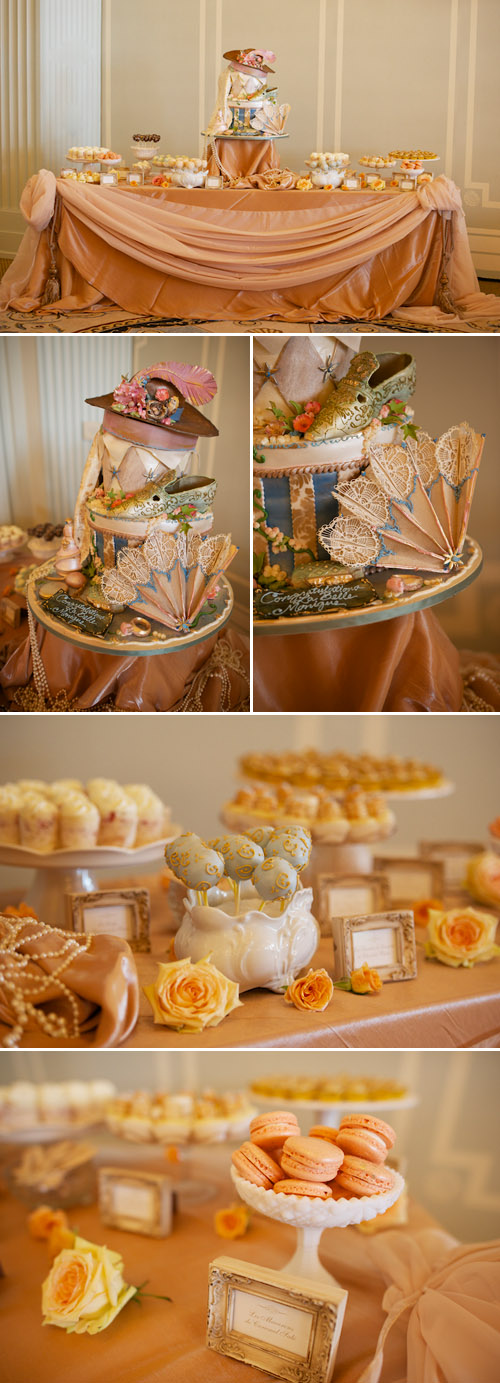 vintage engagement party at Casa Del Mar, styled by Linda Pittelli of Eventful Designing, photos by Mike Colon Photography