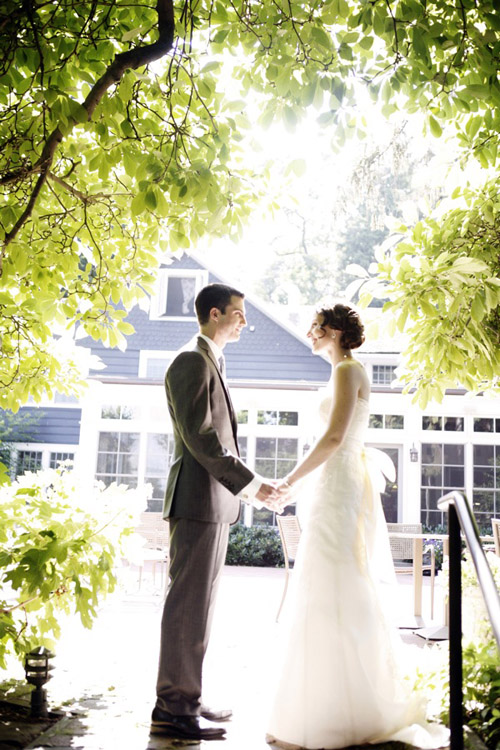 charming vintage style country estate wedding photo by Belathee Photography