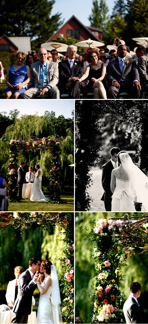 charming vintage style country estate wedding at the Buttermilk Inn, photo by Belathee Photography