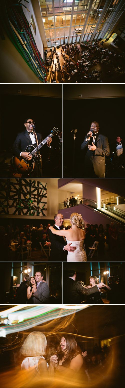 Chic Winter Wedding at The Mint Museum Charlotte, North Carolina - Photo by Caroline Ghetes